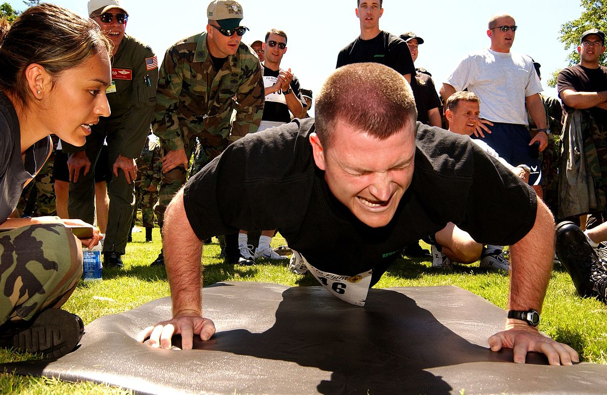Get in shape the military way