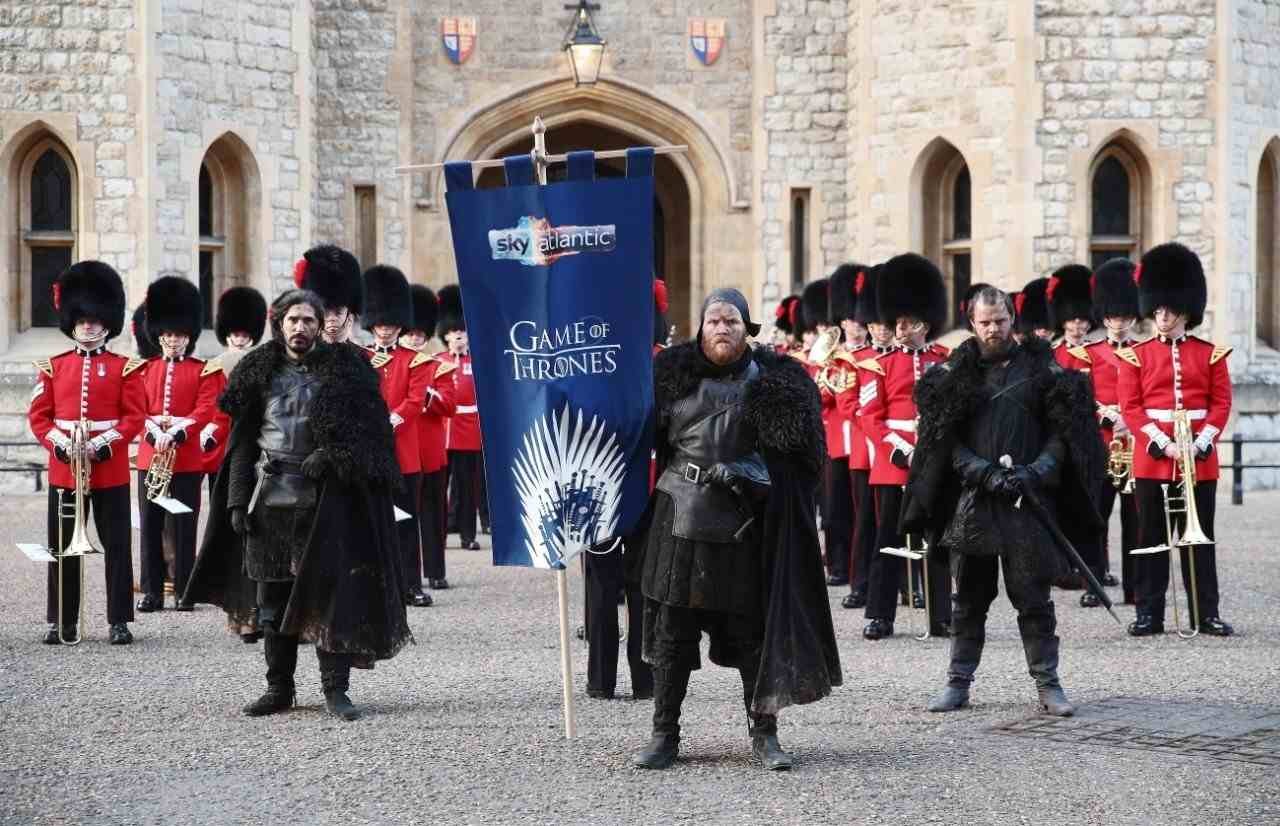 GOT's Night's Watch joins forces with British Army
