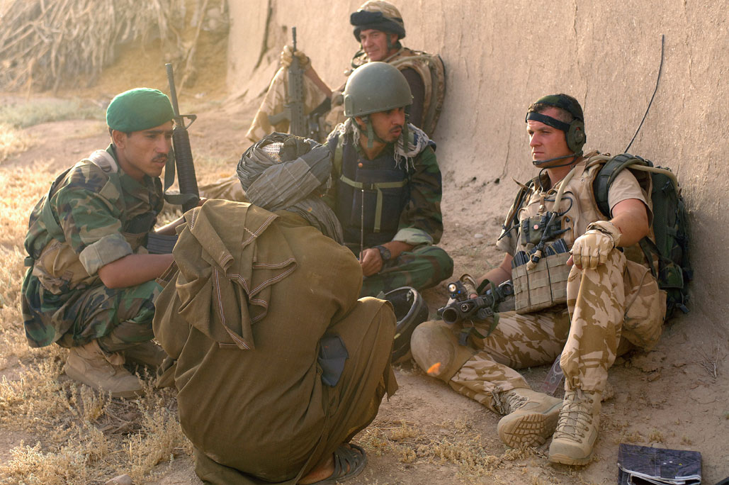 Guardian angels – how our troops are helping Afghan soldiers push back ISIS